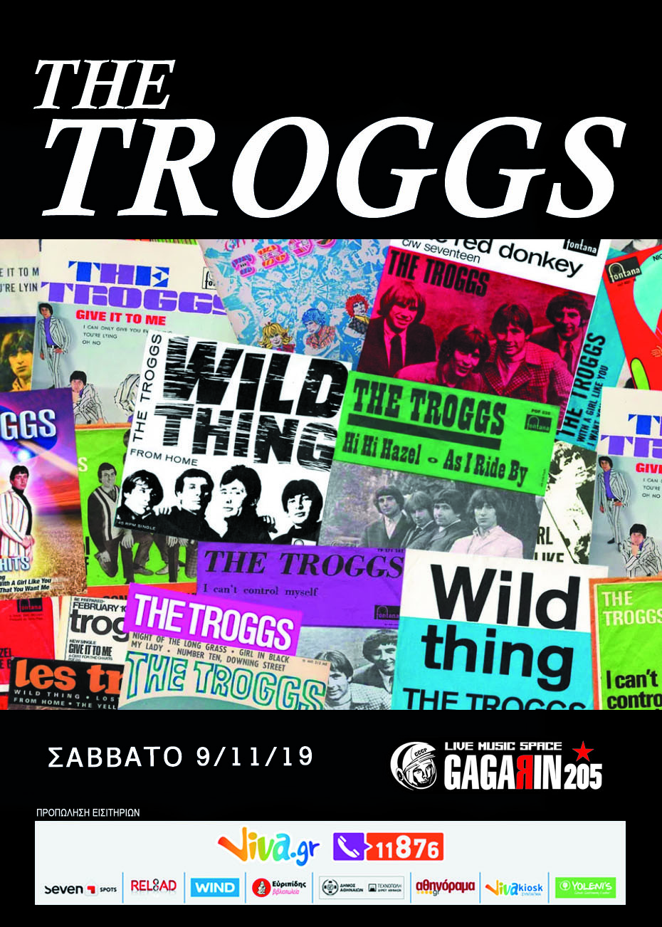 THE TROGGS POSTER